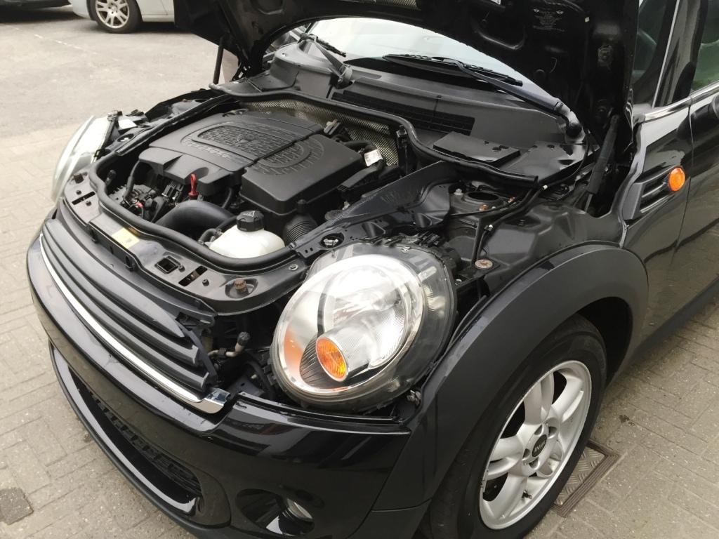 Verkocht Mini One Diesel 16d Zwart Metaal Digitale
