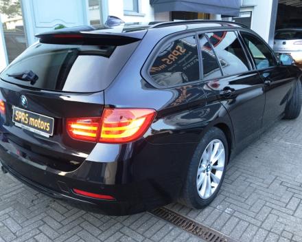VERKOCHT  BMW 318 D M-PACK + LEDER + NAVIGATIE