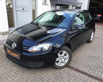 VW GOLF 1,4i Trendline Bezine Zwart - 05/2009 -90996 km