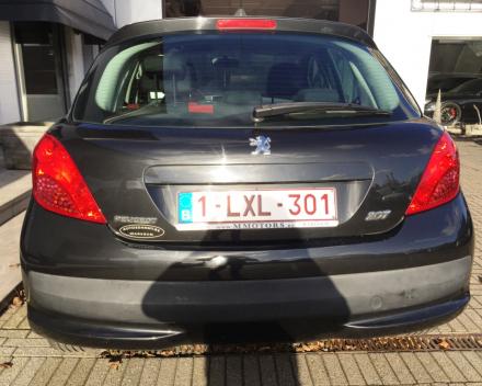 VERKOCHT  PEUGEOT 207 1400 BENZINE / BJ 2007 / 61308 KM / GEKEURD