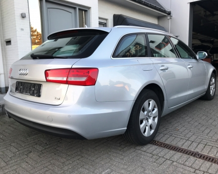VERKOCHT AUDI A6 AVANT 2,0TDI AUTOMAAT / LEDER / NAVIGATIE / 2014