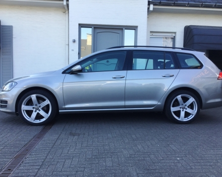 Volkswagen Golf 7 Break 1,6 TDI - Grijs - Diesel - 103101 km - 2014