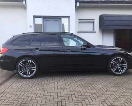 VERKOCHT BMW 318 D M-PACK LEDER SPORTZETELS NAVIGATIE ...