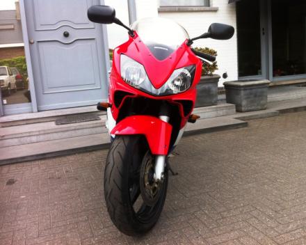 VERKOCHT HONDA CBR600 MOTORFIETS
