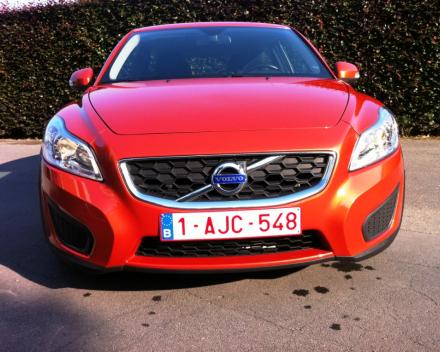 VERKOCHT  VOLVO C30 1,6 D 21/01/2012  SLECHTS 31574 KM  GEKEURD + GARANTIE