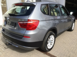 VERKOCHT  BMW X3  2,0D X-DRIVE BEIGE LEDER SPORTINTERIEUR