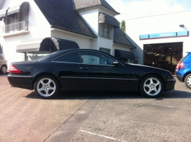VERKOCHT MERCEDES CL500 * FULL OPTION * LEDER * NAVI * CRUISE * ...