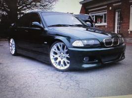 """VERKOCHT  BMW 320D  E46  TUNING  19"""" VELGEN  VERLAAGD  29/10/2000  108653 KM   GEKEURD + GARANTIE"""