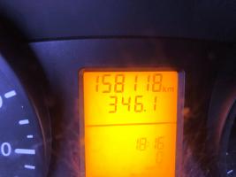 MERCEDES SPRINTER VERHOOGD 26/03/2010   158.118 KM  6950 + BTW