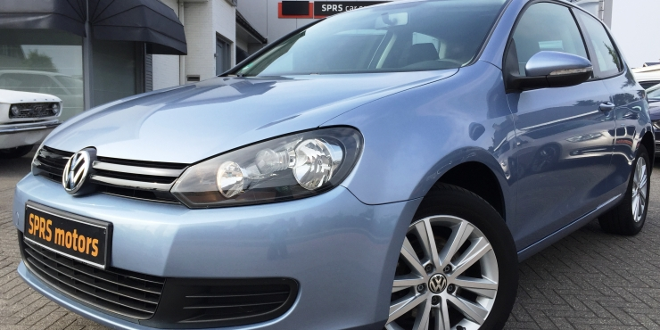VW GOLF 1,4 Trendline Benzine Lichtblauw - 03/2010 - 116215 km