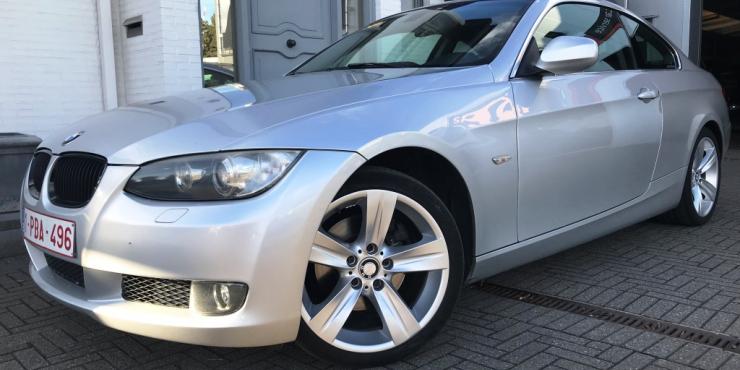 VERKOCHT  BMW 320 COUPE X-DRIVE / 4*4 / LEDER / NAVIGATIE / AUTOMAAT / GEKEURD VOOR VERKOOP