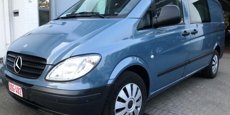 MERCEDES VITO 120 CDI 3,0 V6 DUBBELECABINE / AUTOMAAT / NAVI / 147155 KM
