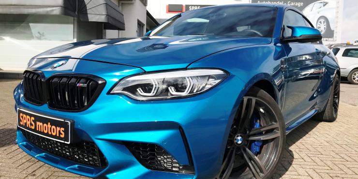 BMW M2 COMPETITION * NIEUW NOG NIET INGESCHREVEN  3.930 KM