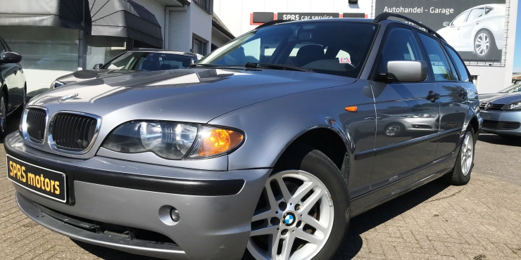 BMW 318 D TOURING OVERNAMEWAGEN 26/05/2005  103471 KM