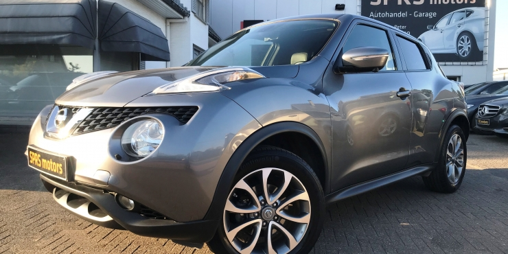 NISSAN JUKE TEKNA FULL OPTION LEDER/CAMERA/NAVI/PANORAM.DAK/CRUISE 03/09/2014